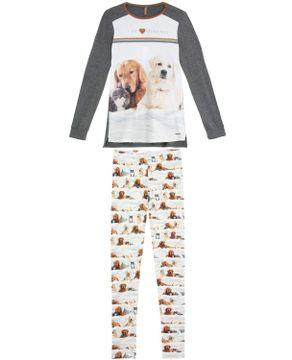 Pijama-Feminino-Lua-Lua-Legging-Viscolycra-Pets