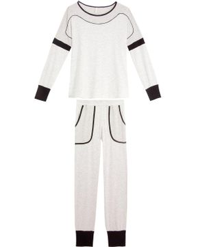Pijama-Feminino-Joge-Longo-Viscolycra-Mescla