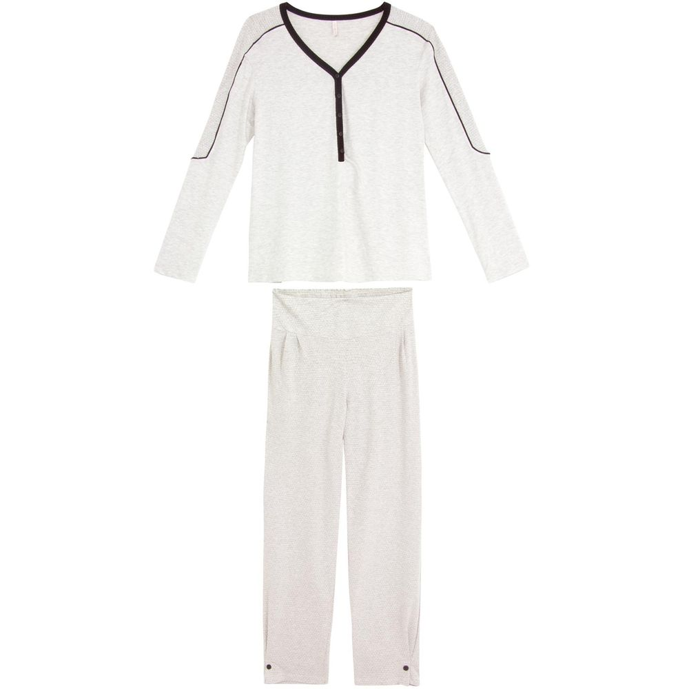 Pijama-Feminino-Joge-Longo-Semi-Aberto-Viscolycra