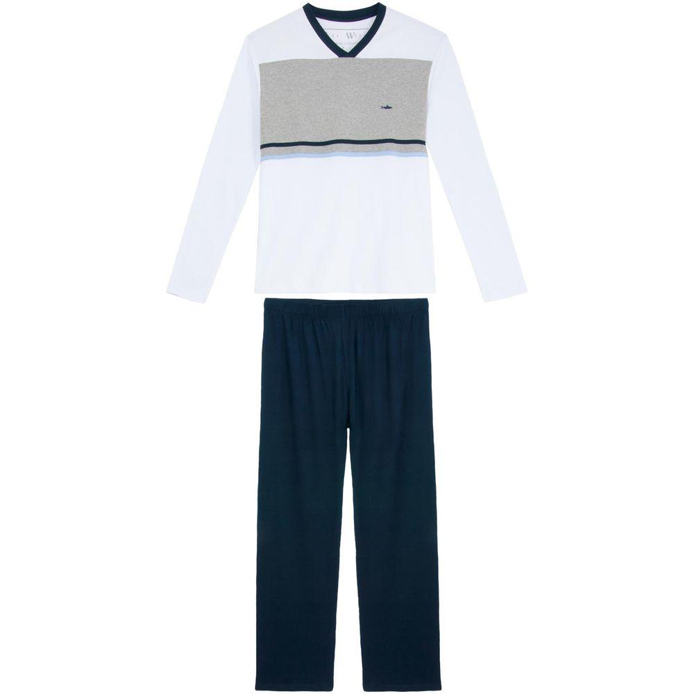 Pijama-Masculino-Fits-Well-Longo-Suedine-Recortes