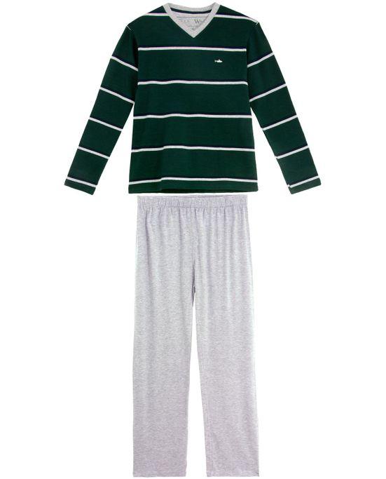 Pijama-Masculino-Fits-Well-Longo-Algodao-Listras