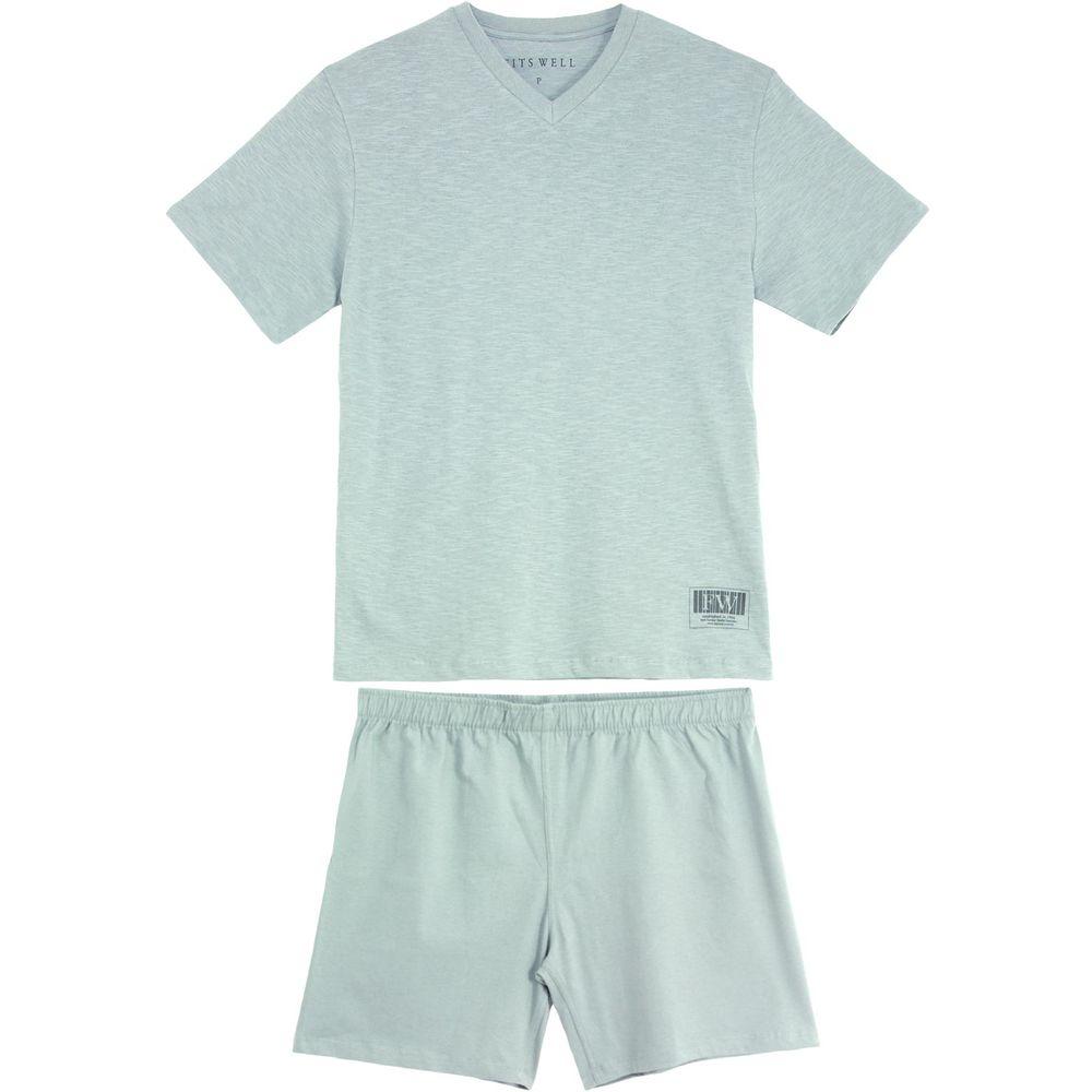 Pijama-Masculino-Fits-Well-Curto-100--Algodao-Flame