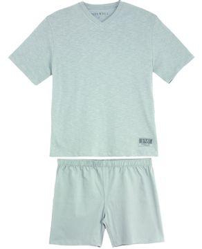 Pijama-Plus-Size-Masculino-Fits-Well-Algodao-Flame