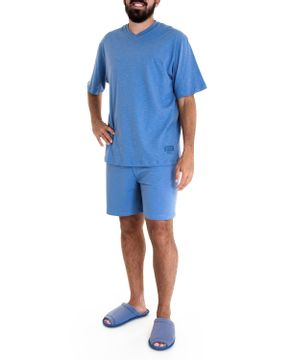 Pijama-Masculino-Fits-Well-Curto-100--Algodao-Flame