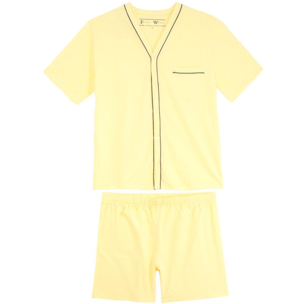 Pijama-Plus-Size-Masculino-Fits-Well-Aberto-Algodao