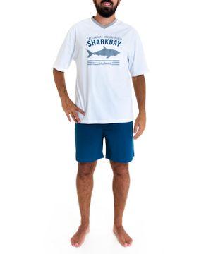 Pijama-Masculino-Fits-Well-Curto-Algodao-Tubarao