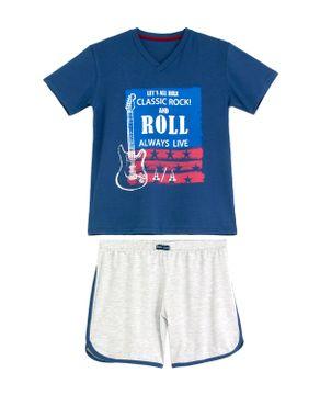 Pijama-Infantil-Masculino-Any-Any-Longo-Rock