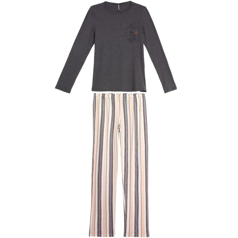 Pijama-Feminino-Lua-Lua-Viscolycra-Calca-Listras