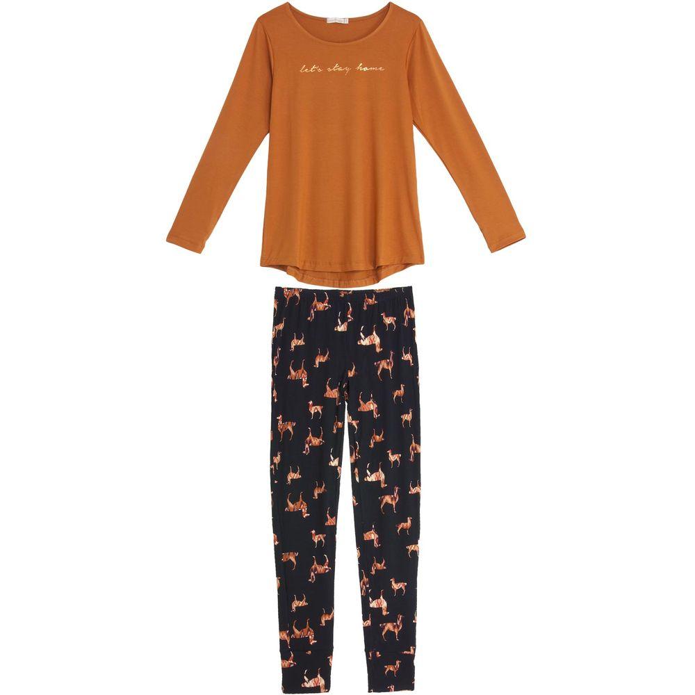 Pijama-Feminino-Daniela-Tombini-Viscolycra-Calca-Lhama