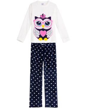 Pijama-Feminino-Lua-Encantada-Longo-Soft-Coruja