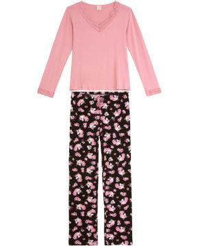 Pijama-Feminino-Lua-Encantada-Viscolycra-Calca-Unicornio