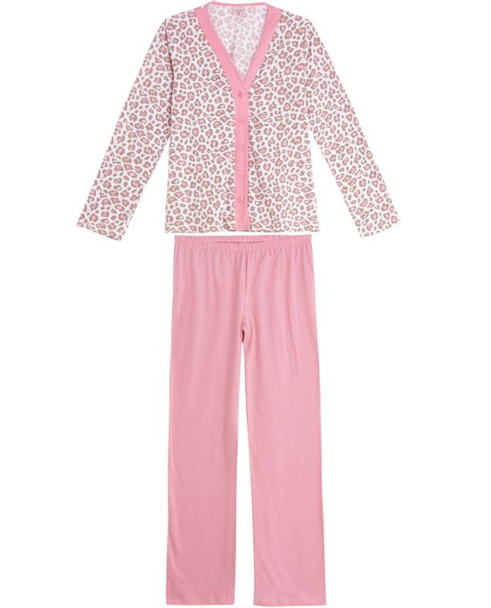Pijama-Feminino-Lua-Encantada-Aberto-Algodao-Onca