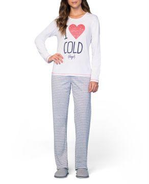 Pijama-Feminino-Lua-Encantada-Algodao-Calca-Listras