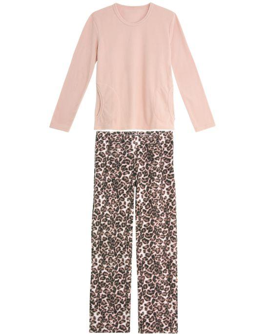Pijama-Feminino-Lua-Encantada-Soft-Calca-Onca