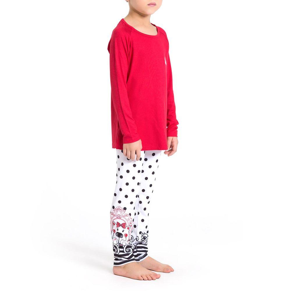 Pijama-Infantil-Feminino-Recco-Viscolycra-Calca-Poa