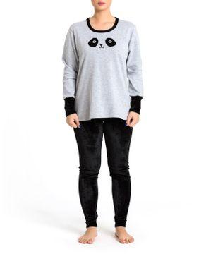 Pijama-Feminino-Recco-Flanelado-Calca-Veludo