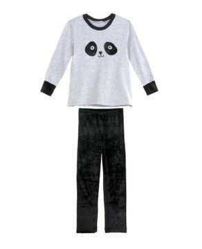 Pijama-Infantil-Feminino-Recco-Flanelado-Calca-Veludo