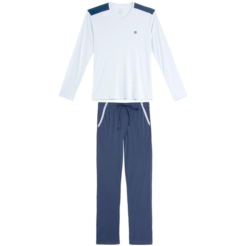 Pijama-Masculino-Recco-Longo-Microfibra-Ombro