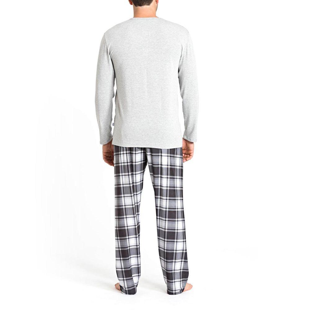 Pijama-Masculino-Recco-Viscolycra-Calca-Xadrez