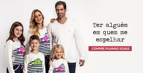 Pijamas Iguais Para Família
