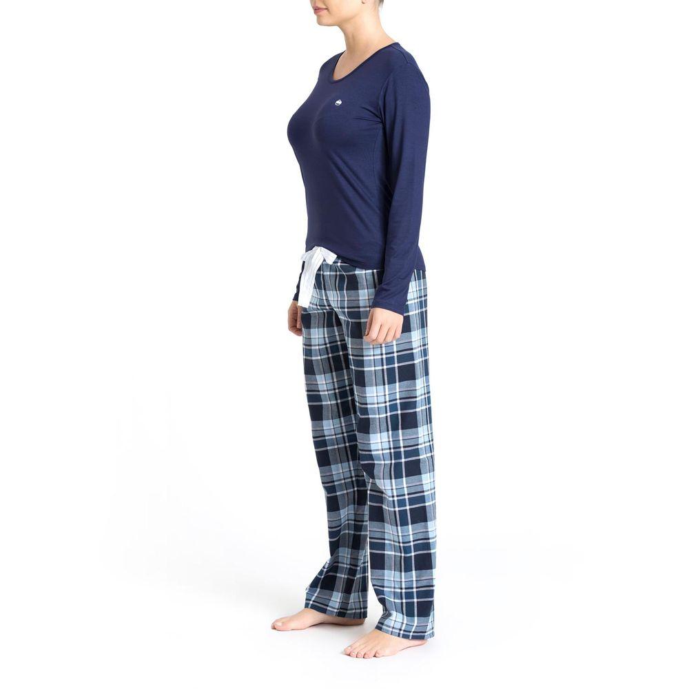 Pijama-Feminino-Recco-Viscolycra-Calca-Xadrez
