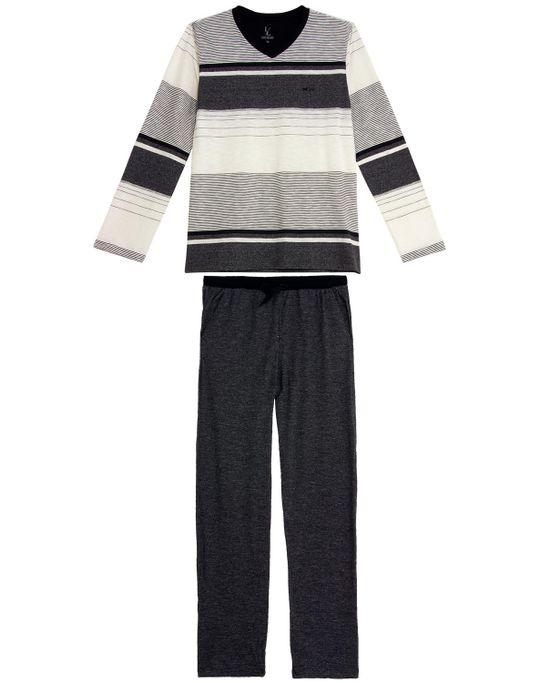 Pijama-Masculino-Lua-Lua-Listras-Calca-Mescla