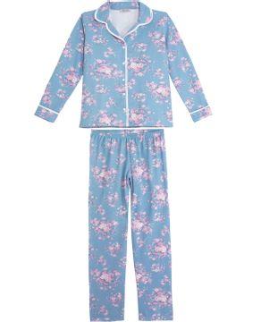 Pijama-Plus-Size-Feminino-Lua-Cheia-Aberto-Floral