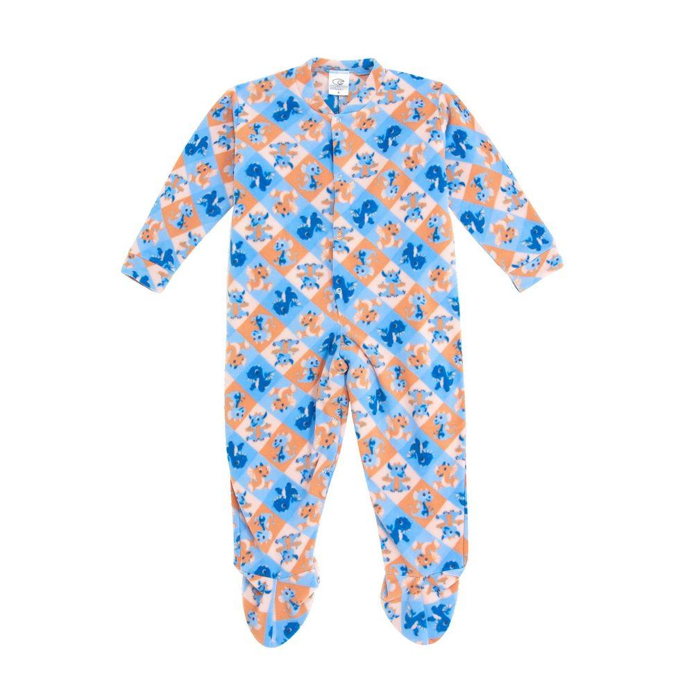 Macacao-Infantil-com-Pe-Papa-s-Wave-Soft-Dragao