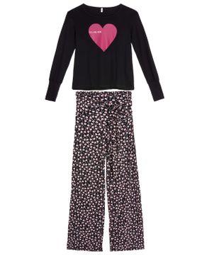 Pijama-Feminino-Joge-Longo-Jersey-Coracao