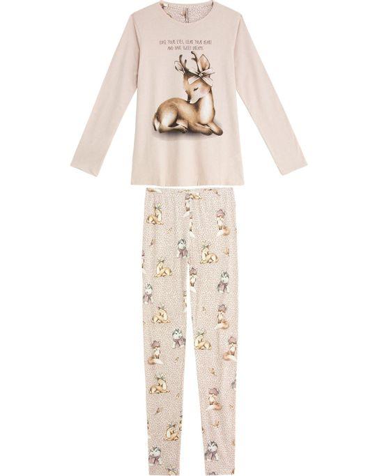 Pijama-Feminino-Lua-Lua-Legging-Algodao-Antilope