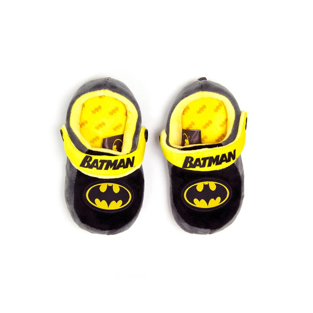 Chinelo-Pantufa-Infantil-Batman-Ricsen-Bordado