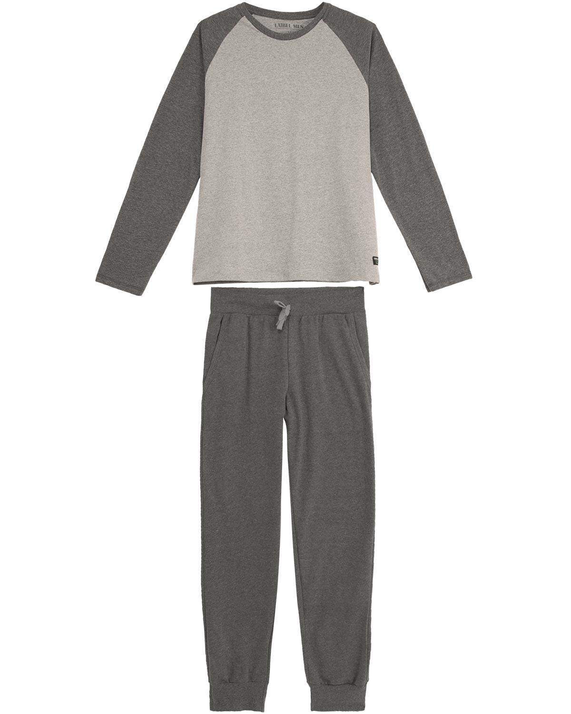 fc94844be Pijama Masculino Laibel Algodão Calça com Punho - Pijama Online