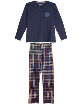 Pijama-Plus-Size-Masculino-Laibel-Calca-Xadrez
