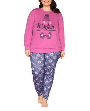 Pijama-Plus-Size-Feminino-Laibel-Algodao-Ola-Inverno