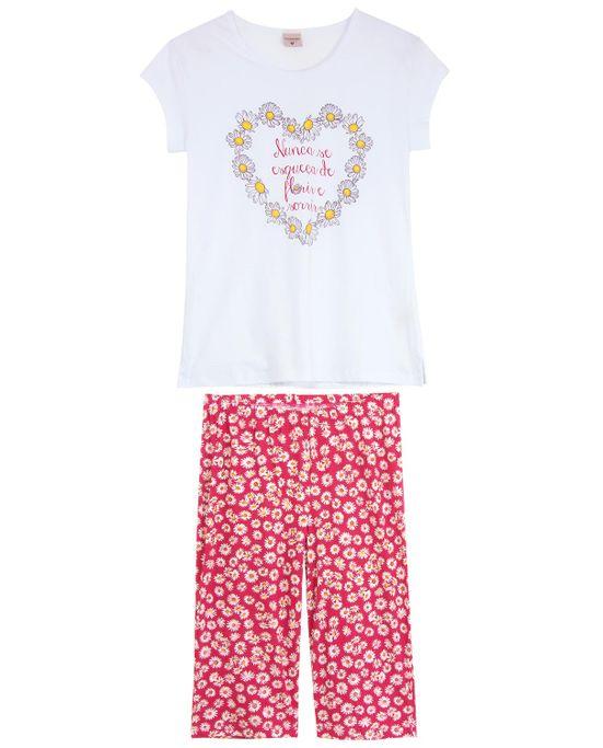 Pijama-Pescador-Lua-Encantada-Algodao-Floral-
