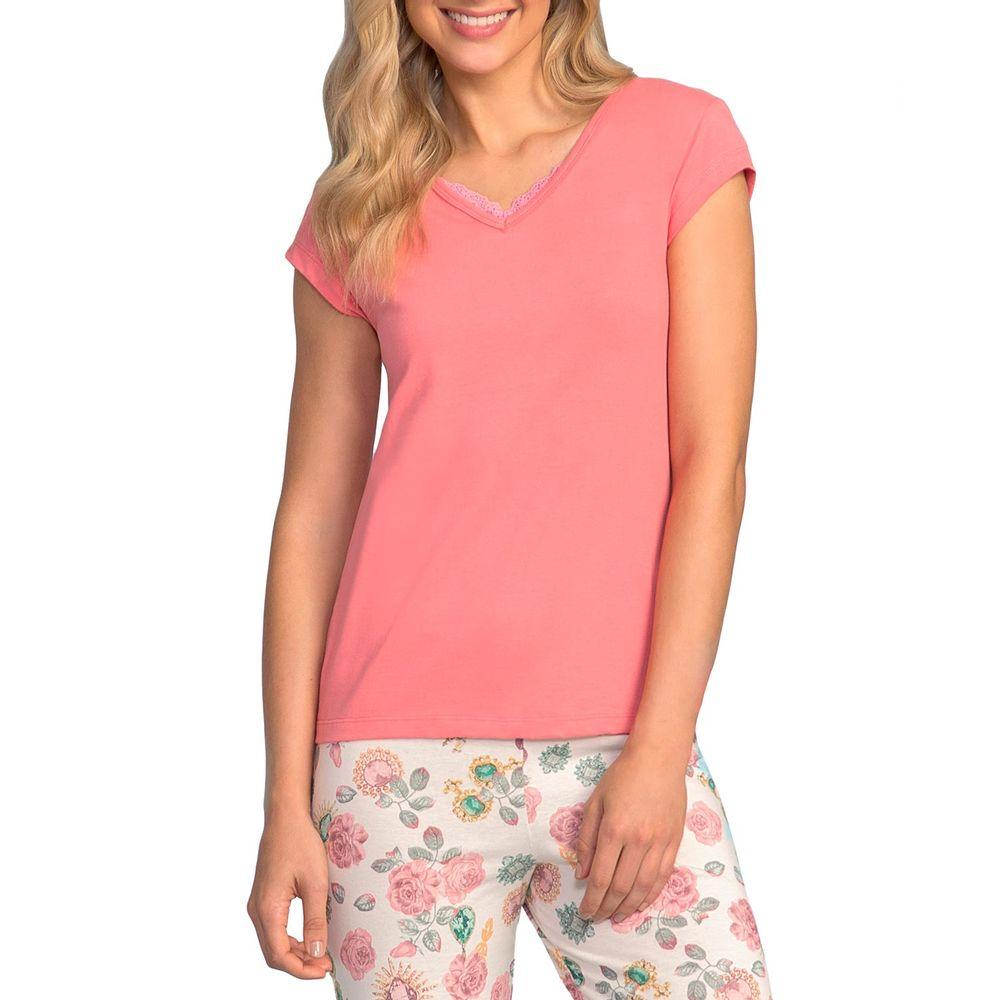 Pijama-Pescador-Lua-Encantada-Algodao-Calca-Floral