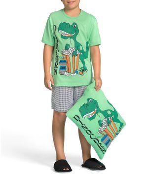 Pijama-Infantil-Masculino-Lua-Encantada-Dinossauro