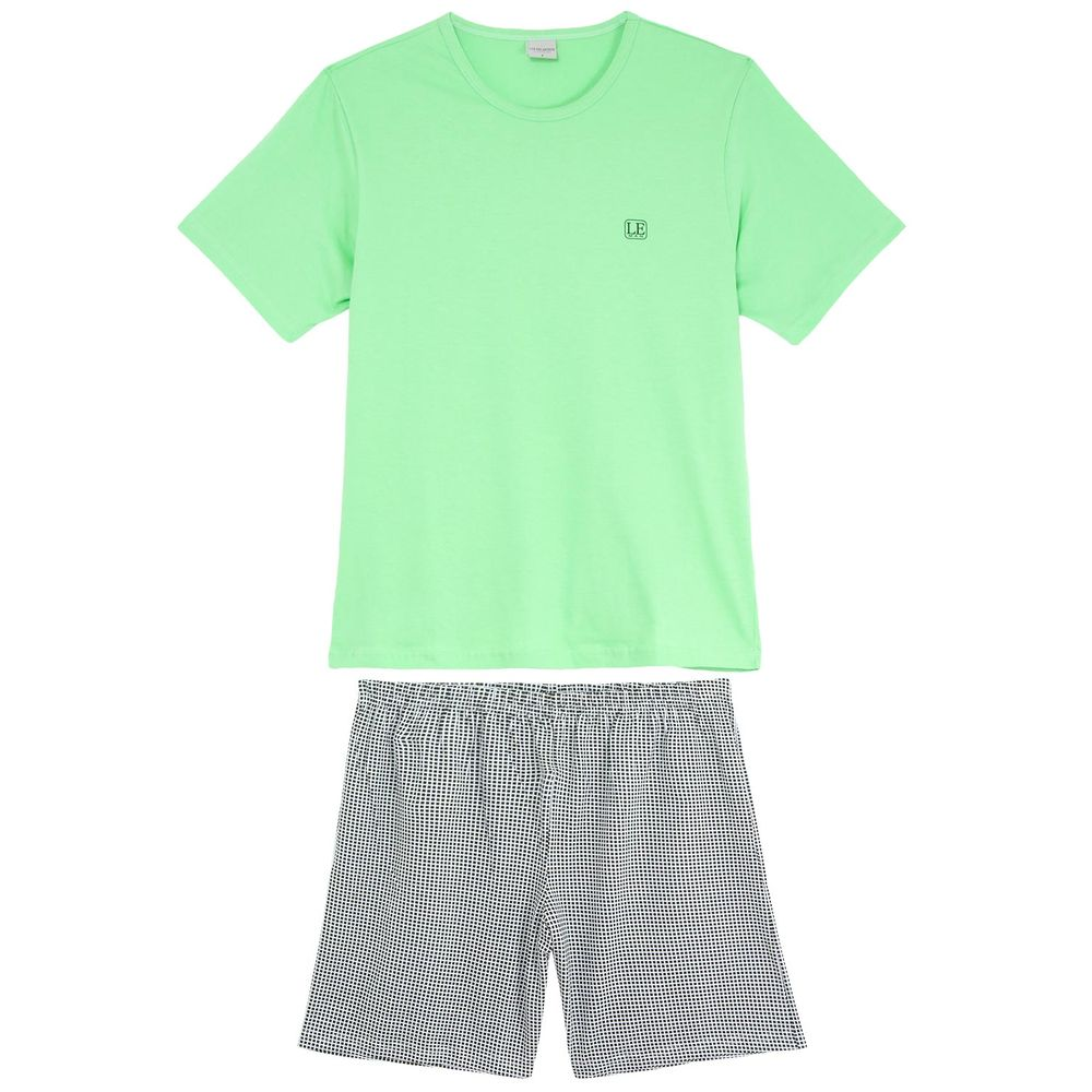 Pijama-Masculino-Lua-Encantada-Curto-Algodao