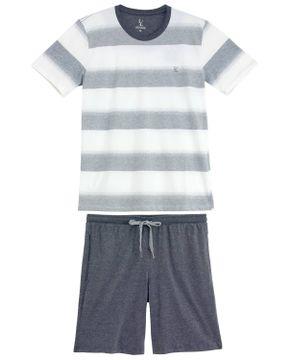 Pijama-Masculino-Lua-Lua-Bermuda-Algodao-Listras
