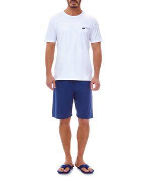 Pijama-Masculino-Lua-Lua-Elastico-Bermuda-Algodao