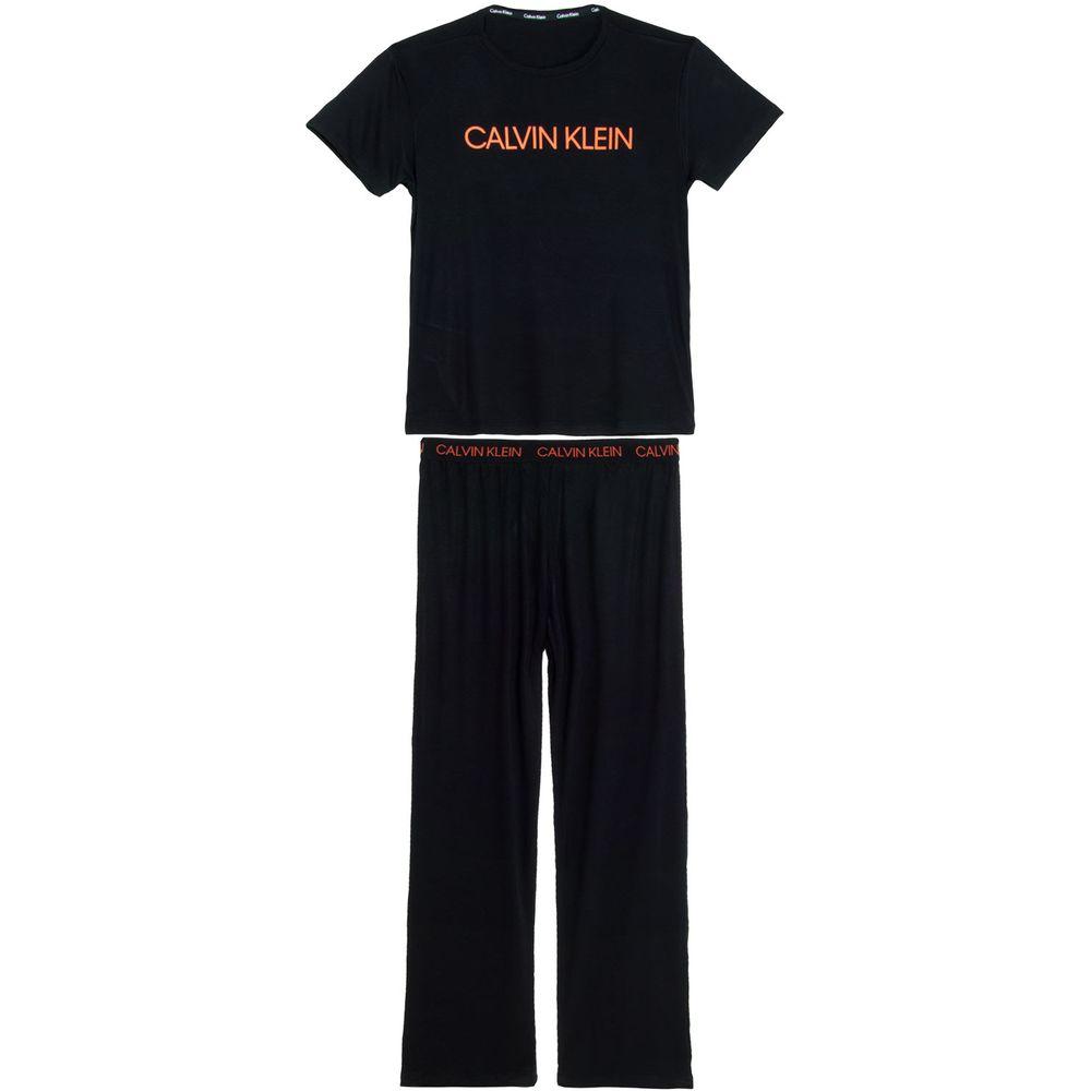 Pijama-Masculino-Calvin-Klein-Viscolycra-Calca-Manga