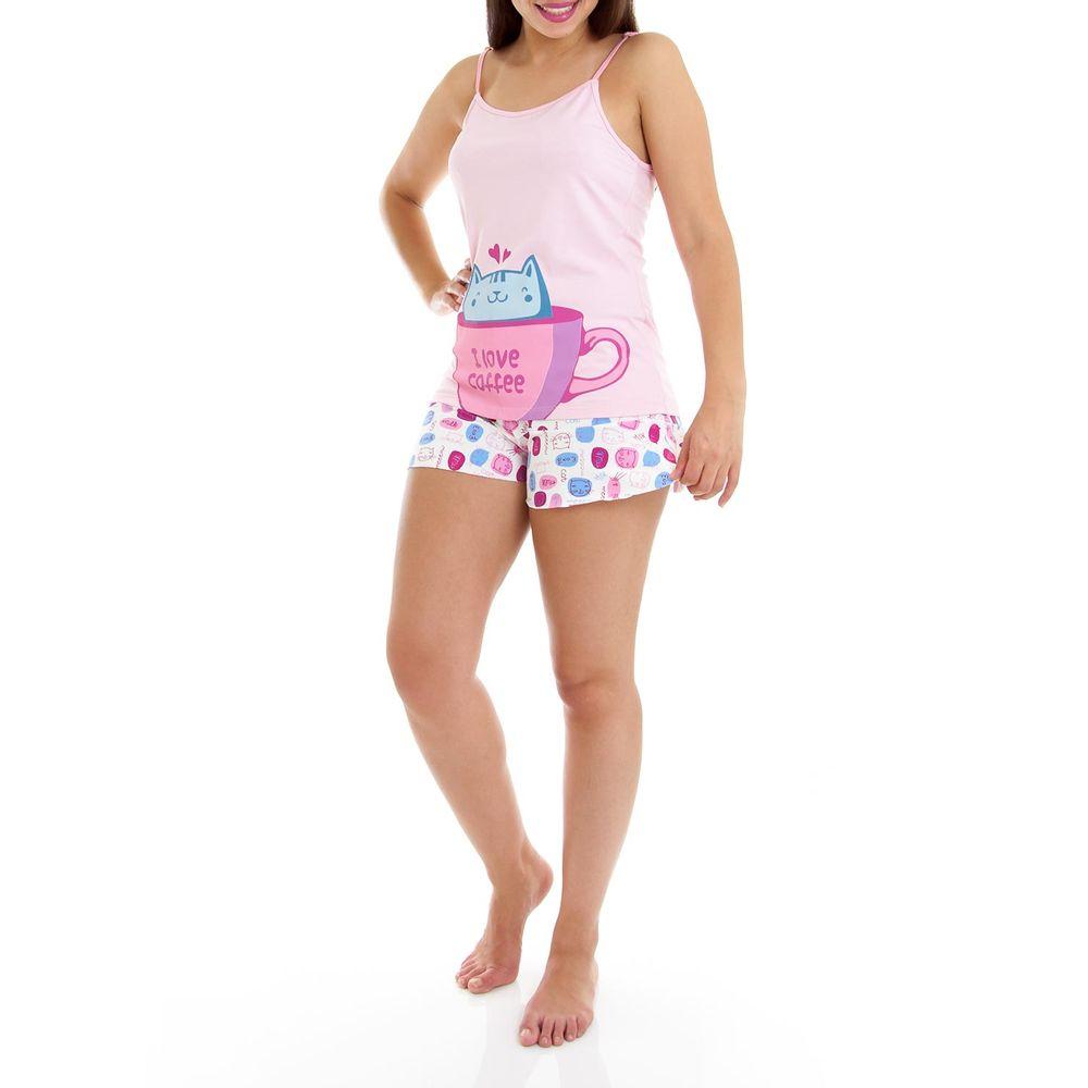 Shortdoll-Homewear-Viscolycra-Alca-Gato