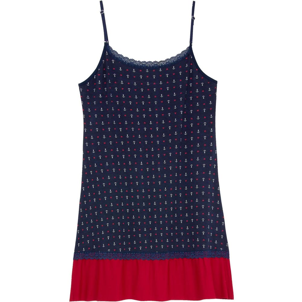 Camisola-Plus-Size-Homewear-Viscolycra-Renda-Navy