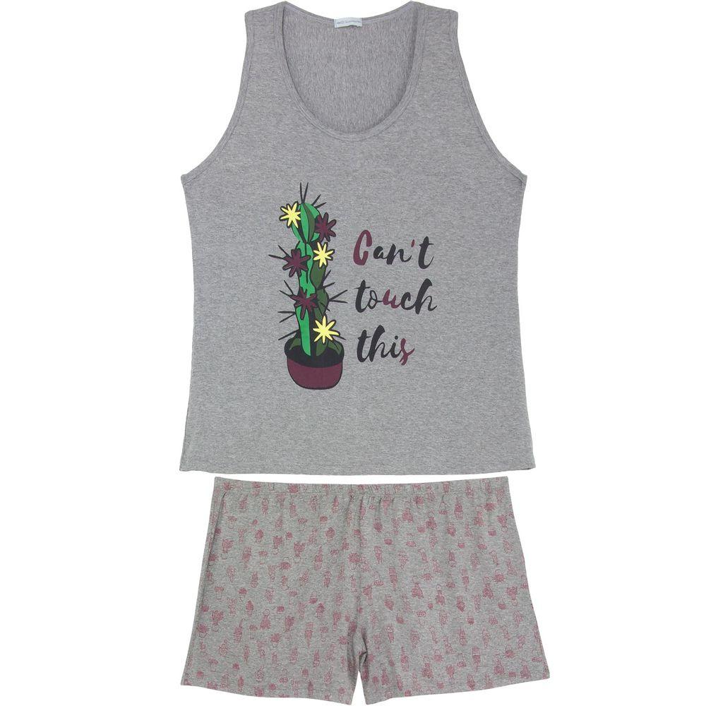 Shortdoll-Plus-Size-Homewear-Viscolycra-Cacto
