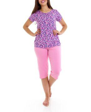 Pijama-Pescador-Homewear-Viscolycra-Floral