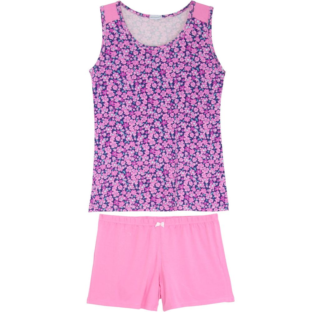 Shortdoll-Homewear-Regata-Viscolycra-Floral
