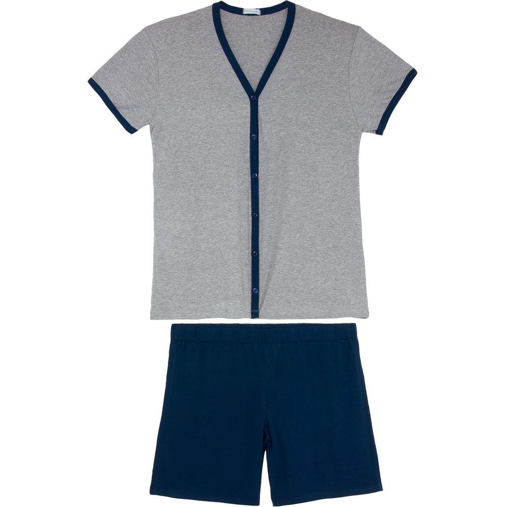 Pijama-Masculino-Homewear-Aberto-Curto-Viscolycra