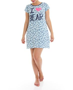 Camisetao-Homewear-Viscolycra-Ursos