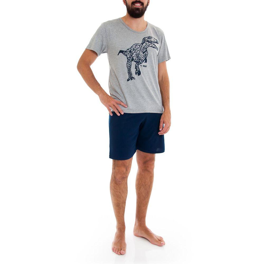 Pijama-Masculino-Homewear-Viscolycra-Dinossauro