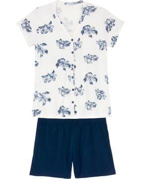 Shortdoll-Homewear-Aberto-Viscolycra-Floral